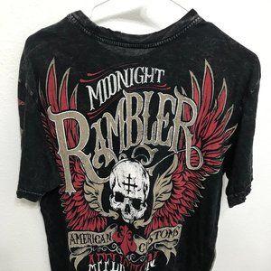 Affliction Designer T shirt small